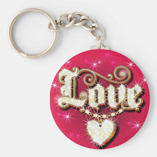 Love Sparkles Key Chain