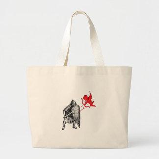 Love Spat Large Tote Bag