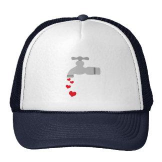 Love Spigot Mesh Hats
