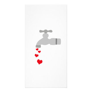 Love Spigot Custom Photo Card