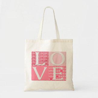 Love Square - Budget Tote Canvas Bag