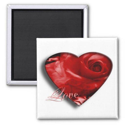 Love Square Magnet