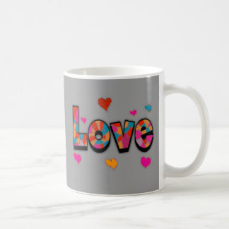 """""""LOVE"""" Stained Glass Look Gifts Mug"""