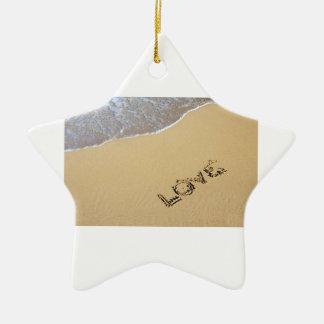 Love star ceramic star decoration