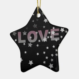Love Star Ornament