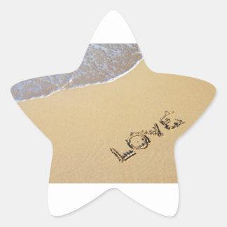 Love star star sticker