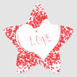 Love Star Sticker