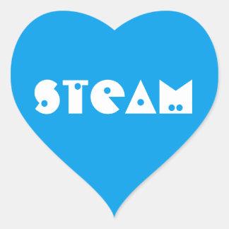 """Love """"STEAM"""" Stickers"""