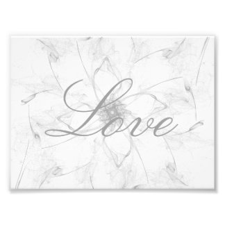 Love Stencil Photo Art