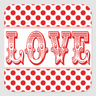 Love Stickers For Valentine's Day Gifts or Wedding