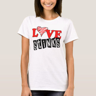 Love Stinks Anti-Valentines T-shirts