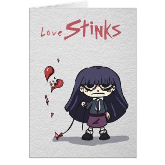 Love Stinks Card 1