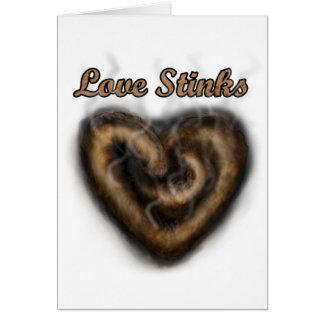 Love Stinks Greeting Card