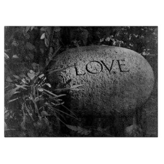 """Love"" Stone Cutting Board"