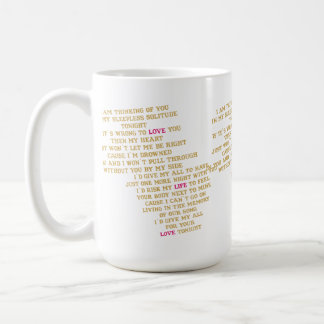 Love Story Basic White Mug