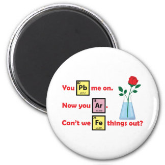 Love Story - Chemistry Style 6 Cm Round Magnet