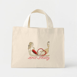 Love Story Mini Tote Bag