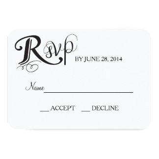 Love Story Wedding Reply Card 9 Cm X 13 Cm Invitation Card