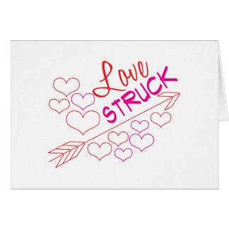 Love Struck Greeting Card