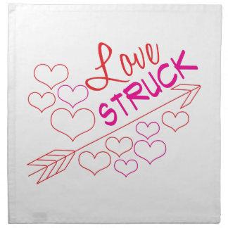 Love Struck Printed Napkin