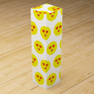 Love Struck Emoji Wine Boxes