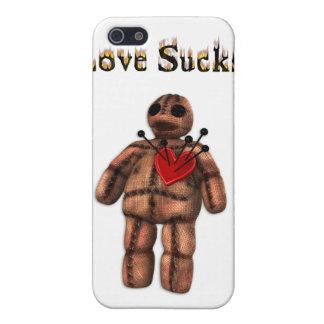 Love Sucks Voodoo Doll  iPhone 5 Cover