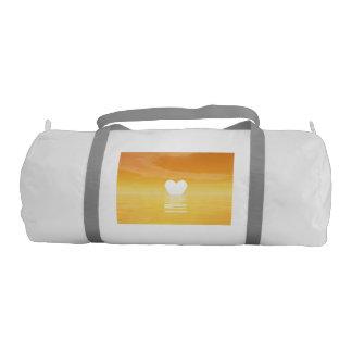 Love sunset - 3D render Gym Bag