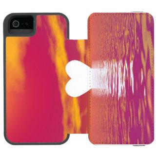 Love sunset - 3D render Incipio Watson™ iPhone 5 Wallet Case