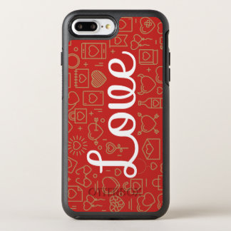 Love Surrounded by Hearts | Phone Case