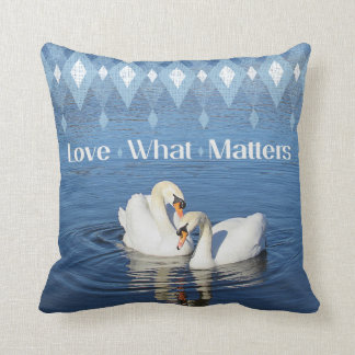 Love Swans Pillow