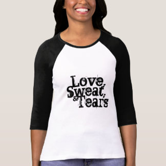 Love, Sweat, and Tears Black & White Top Design