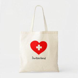 Love Switzerland tote bag