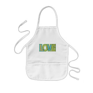 Love T-shirts and Gifts Kids' Apron