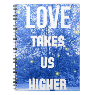 Love Takes Us Higher Firefly Notebook