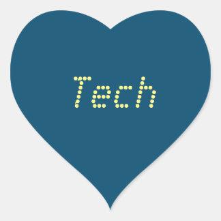 "Love ""Tech"" Stickers"