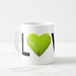 Love Tennis Mug (Tennis Ball Heart)
