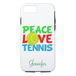 Love Tennis Personalized iPhone 8/7 Case