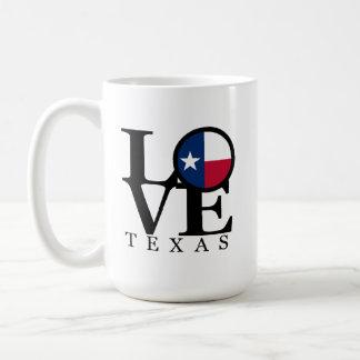 LOVE Texas 15oz Mug White