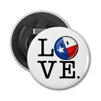 Love Texas Smiling Flag Bottle Opener