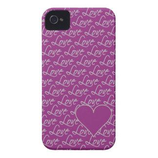 Love Text Blackberry Bold case