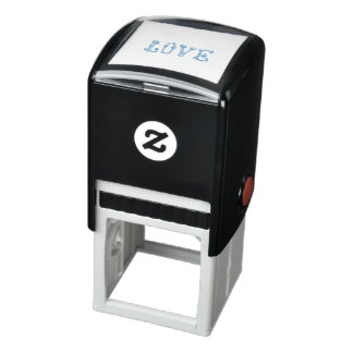 Love-Text Self-inking Stamp