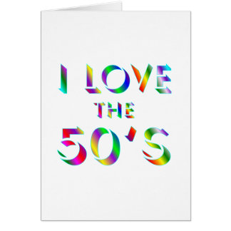 Love the 50's card