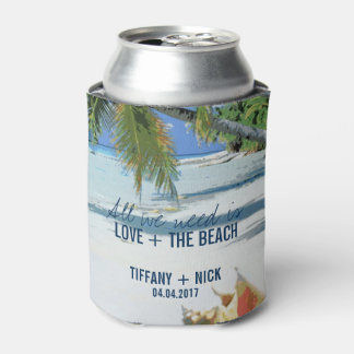 Love + The Beach Tropical Wedding Day Favors