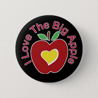 Love The Big Apple 6 Cm Round Badge