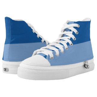 Love the Blues II Hi-Top Printed Shoes