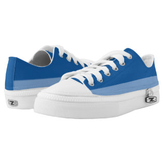 Love the Blues II Two-Tone Lo-Top Printed Shoes