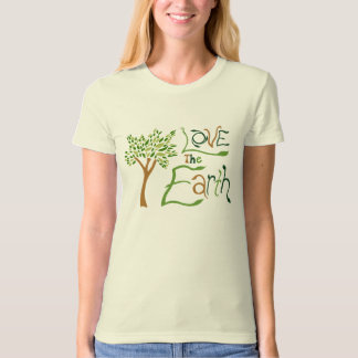 Love the Earth Organic Womens T-Shirt