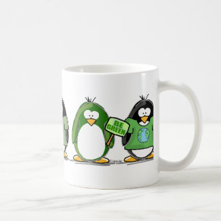 Love the earth penguins coffee mug