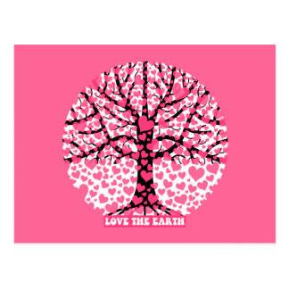 love the earth postcard