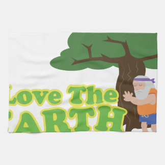Love The Earth Tea Towel